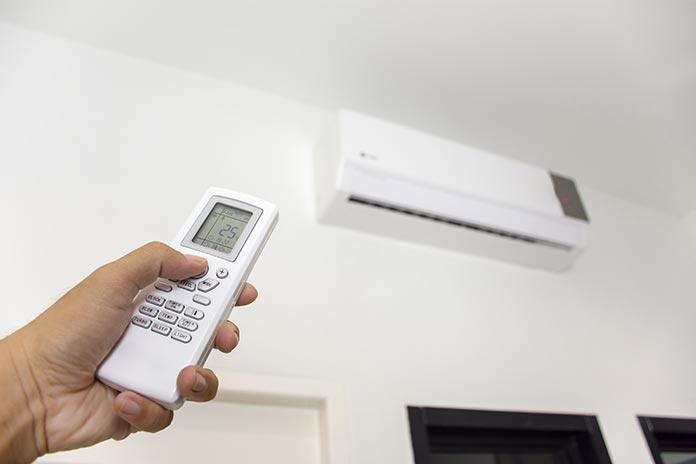 climatiseur avec télécommande